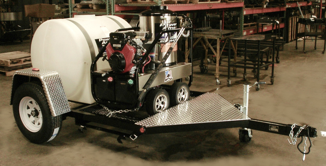 Trailer Mount Pressure Washer Packages