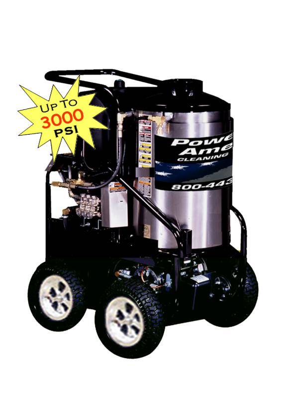 Powered Pressure Washers - Electric Powered